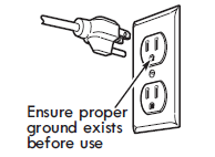GROUNDING INSTRUCTIONS