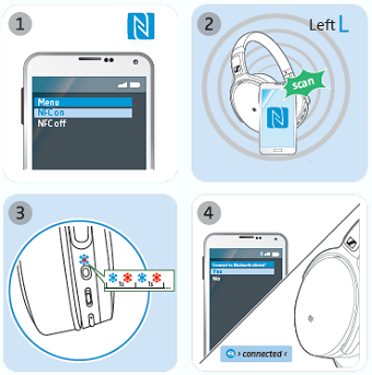 Pairing to a Bluetooth device using NFC