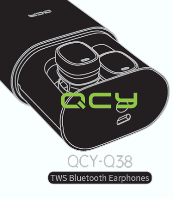 QCY Q38 TWS Bluetooth Earphone