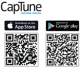 Sennheiser CapTune app available for more functions