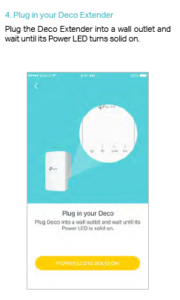 Plug in your Deco Extender
