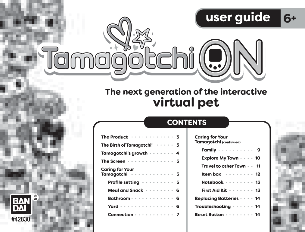 Tamagotchi ON User Manual - Manuals+