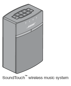 SoundTouch™ wireless music system