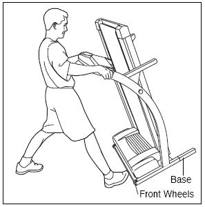 HOW TO MOVE THE TREADMILL