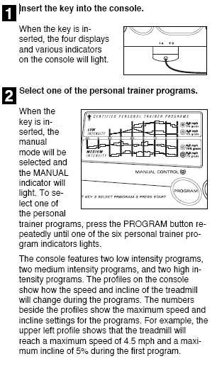 HOW TO USE PERSONAL TRAINER PROGRAMS