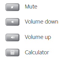Multimedia volume zone