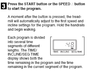 Press the START button