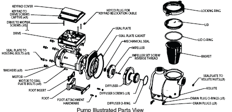 Pump Illustrated Parts View