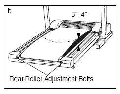 Rear Roller Adjustment Bolts