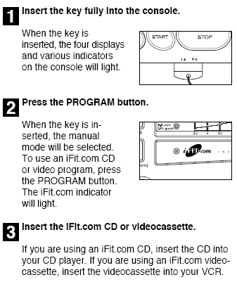 instructions included in the CD