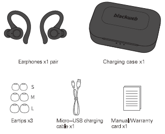 Blackweb Wireless Earphones Manual Manuals