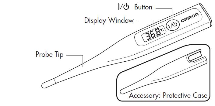 Omron MC-246 GentleTemp Thermometer
