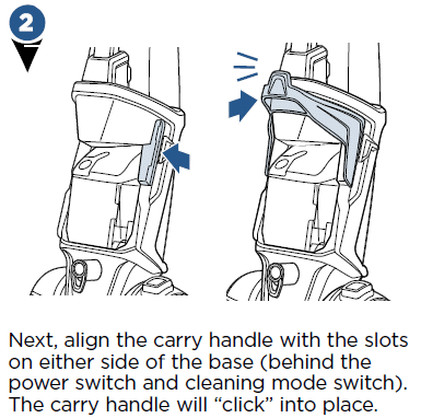 align the carry handle