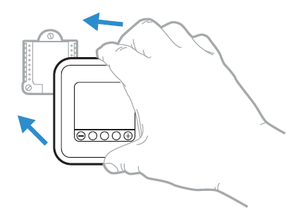 Thermostat mounting