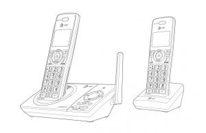 AT&T Dect 6.0 Cordless Telephone [CL82219, CL82229, CL82319, CL82419]