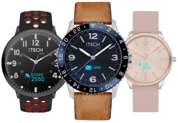 iTECH duo ANALOG SMART WATCH