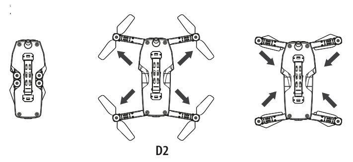 Propel Flex 2.0 Drone - HOW TO EXPAND AND FOLD YOUR FLEX 2.0™