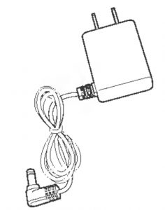 Power adapter for telephone base