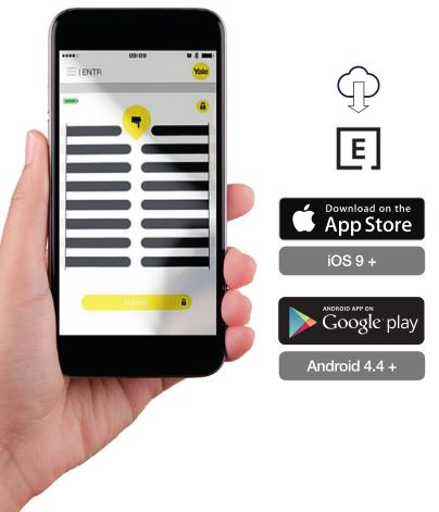 ENTR Smart Door Lock - Download Apps from Google Play Or App Store
