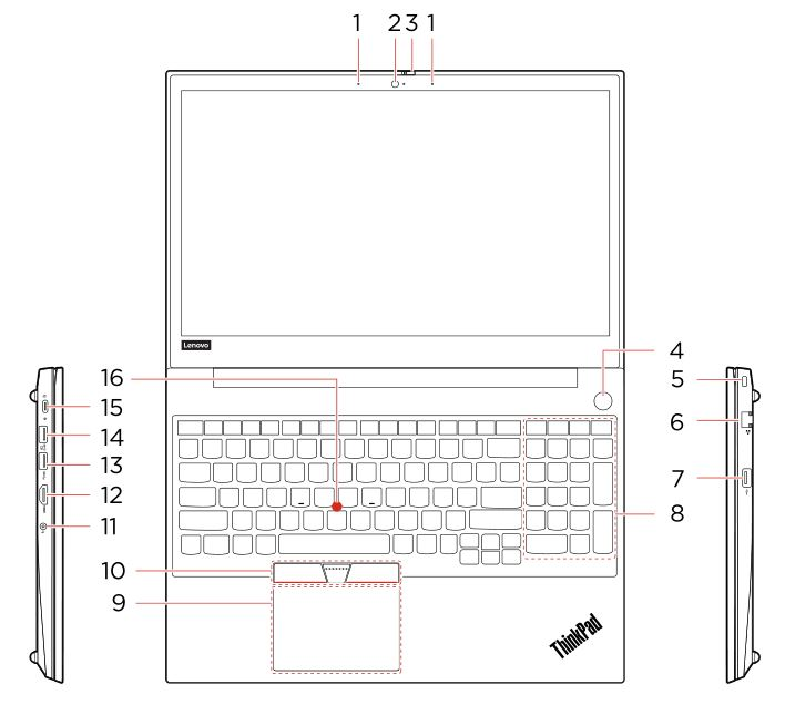 ThinkPad E15 Notebook Computer - Overview