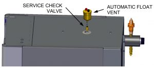 Automatic Float Vent Installation
