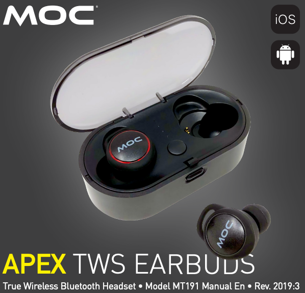 APEX TWS EARBUDS