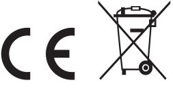 CE & Recycle Logo