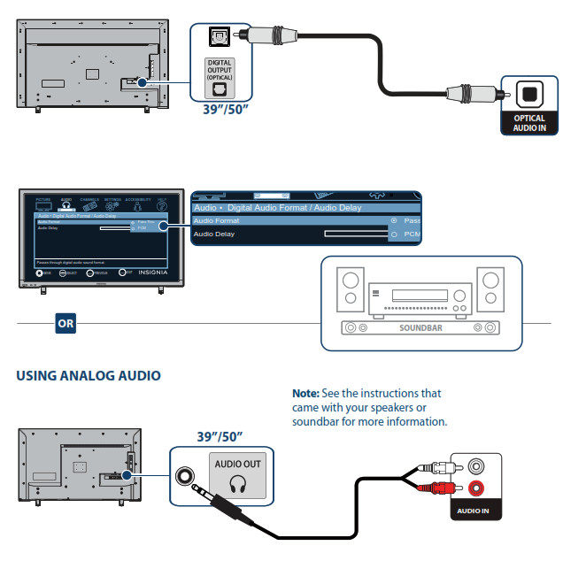 CONNECTING AUDIO DEVICES