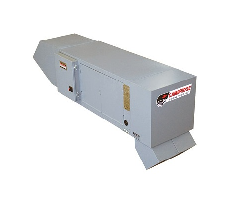 Cambridge S-Series Direct Gas-Fired Industrial Blow-Thru Space Heater