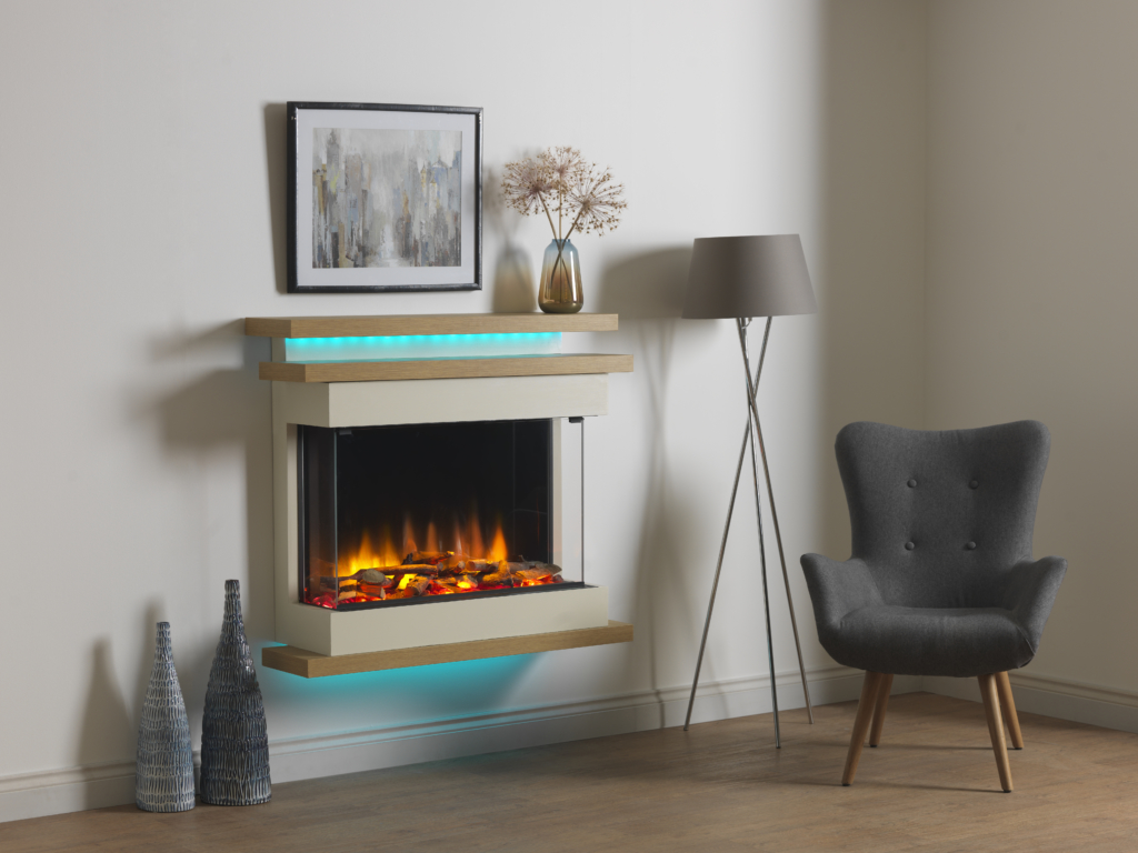 Charlton & Jenrick LED Electric Fireplace [Polaris 840/1000/1600]