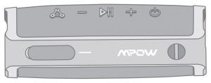FIG 1 Mpow SoundHot R9 Bluetooth Speaker BH436A