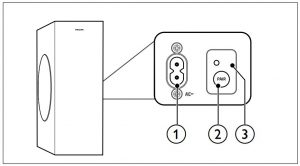 FIG 2 Wireless subwoofer