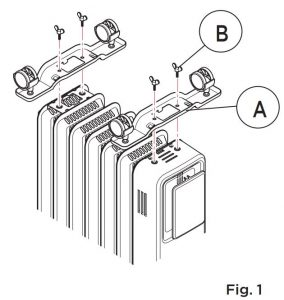 FIG 4 Fitting The Castors