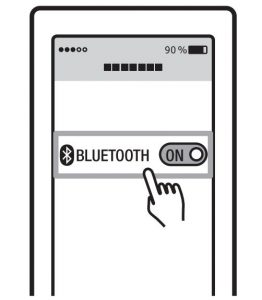 FIG 4 Pairing your Bluetooth for the first time