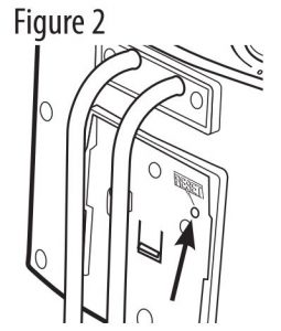 FIG 6 Resetting the Overheat Protection Button