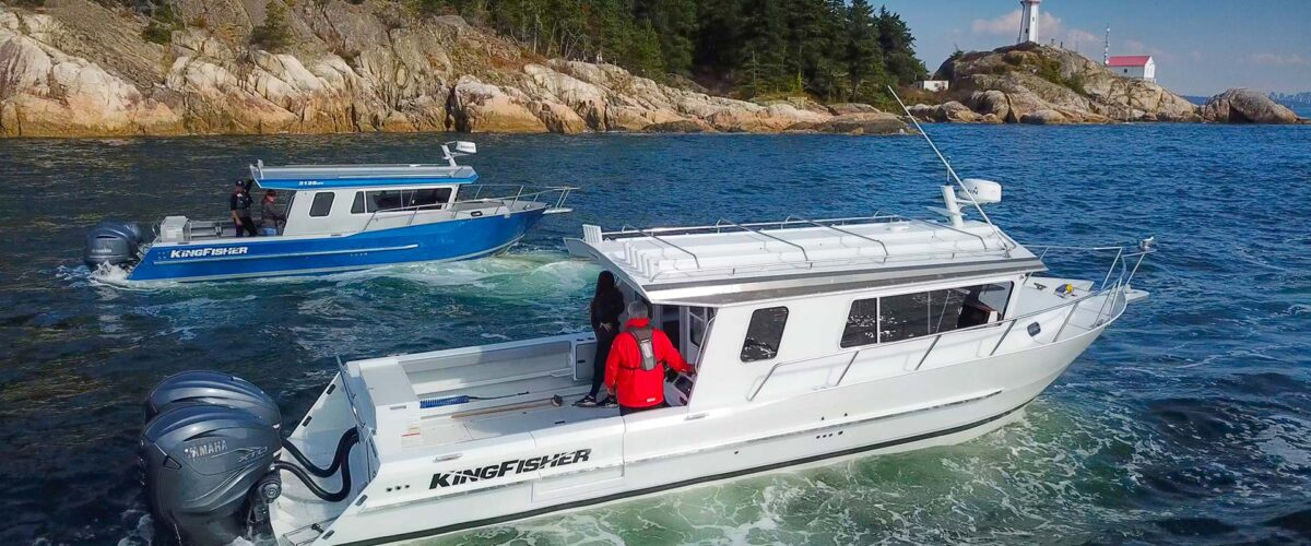 KingFisher 3125 & 3425 GFX Offshore Welded Adventure Boats