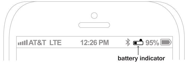 MEELECTRONICS Bluetooth Wireless Headphones X7 - Apple® device's display battery indicator