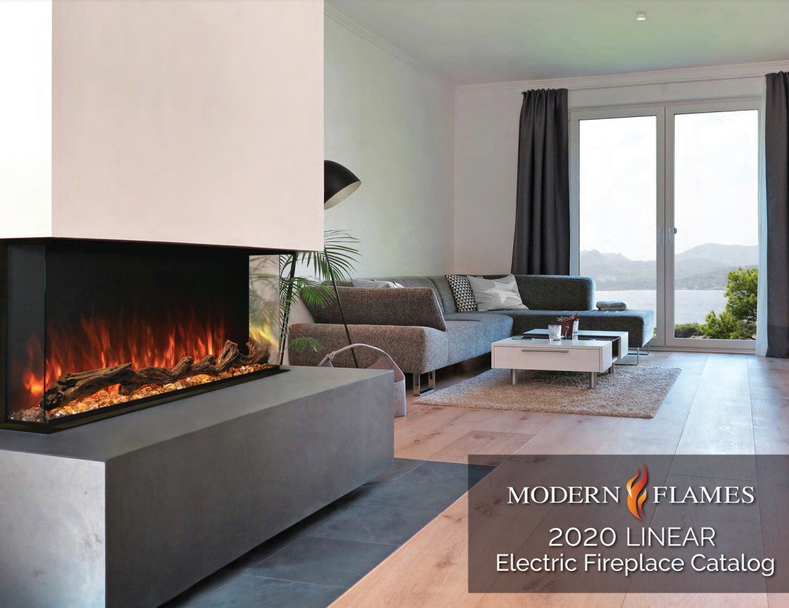 Modern Flames 2020 Linear Electric Fireplace