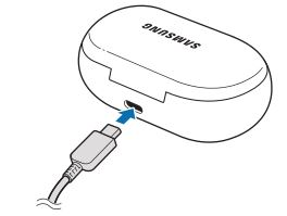 Samsung Galaxy Earbuds - Connect the USB cable to the charger