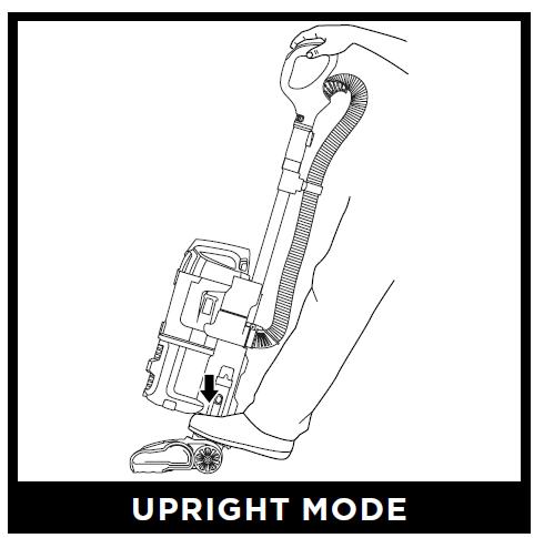 Shark Navigator Lift-Away with Self-Cleaning Brushroll Pet Upright Vacuum CU500 User Manual