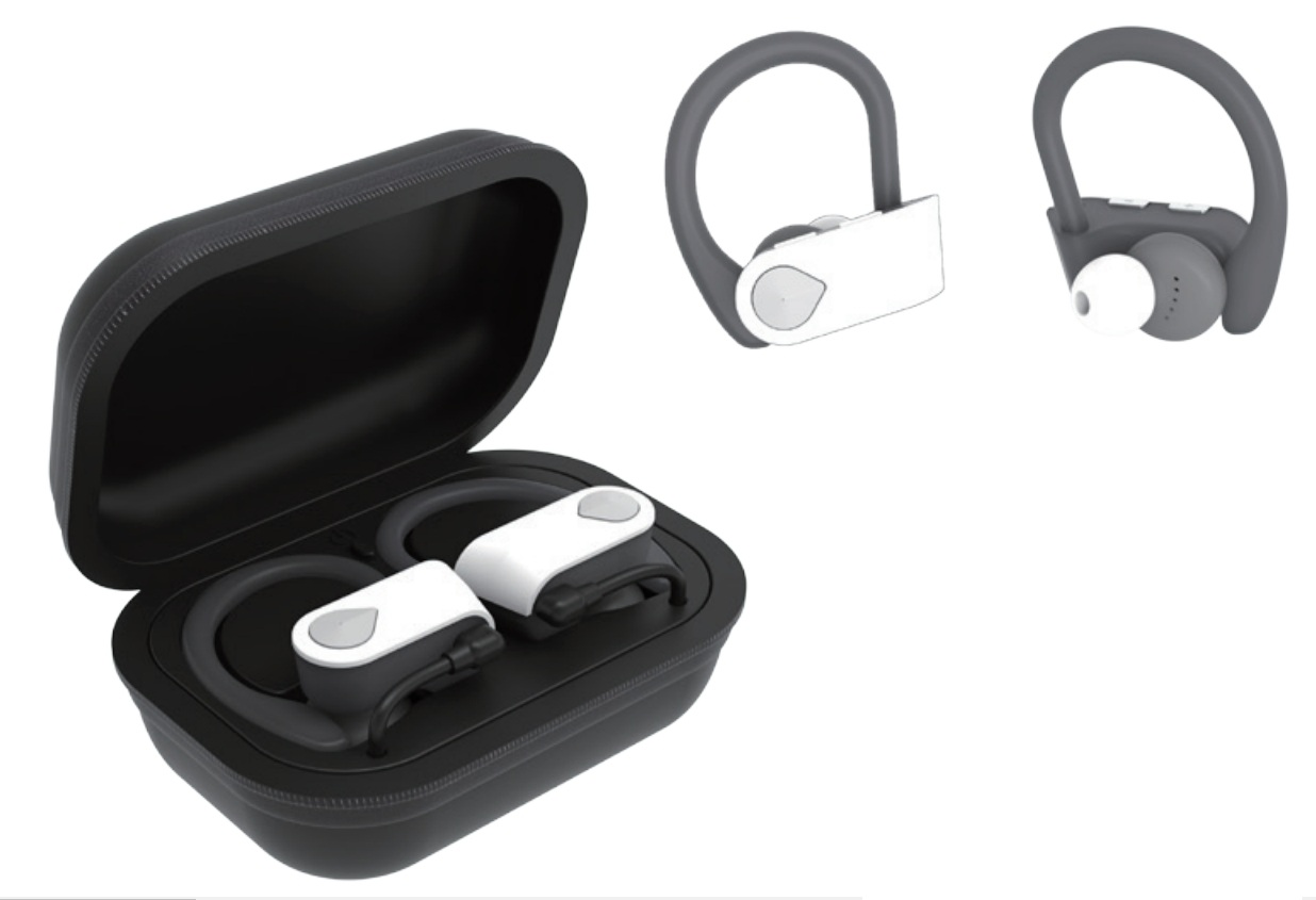Supersonic IQ-140TWS True Wireless Earbuds with Charging Case