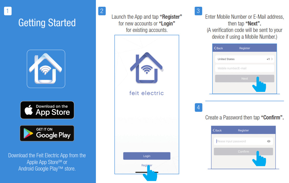 User Guide For Feit Electric App Getting Started