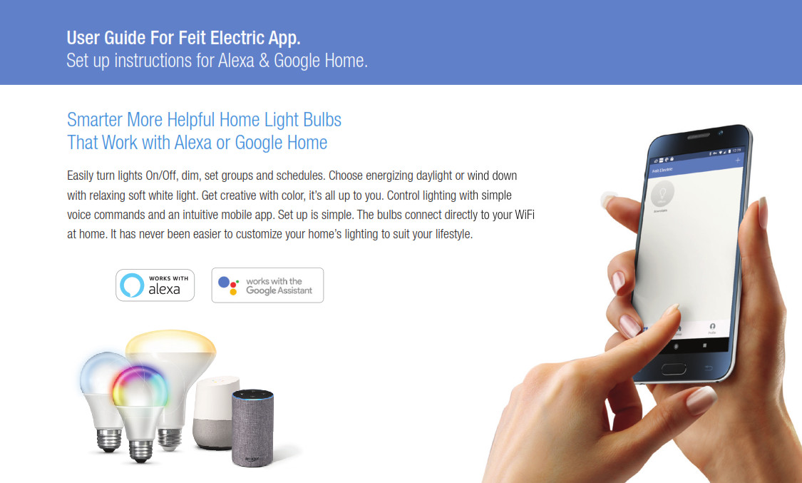 User Guide For Feit Electric App