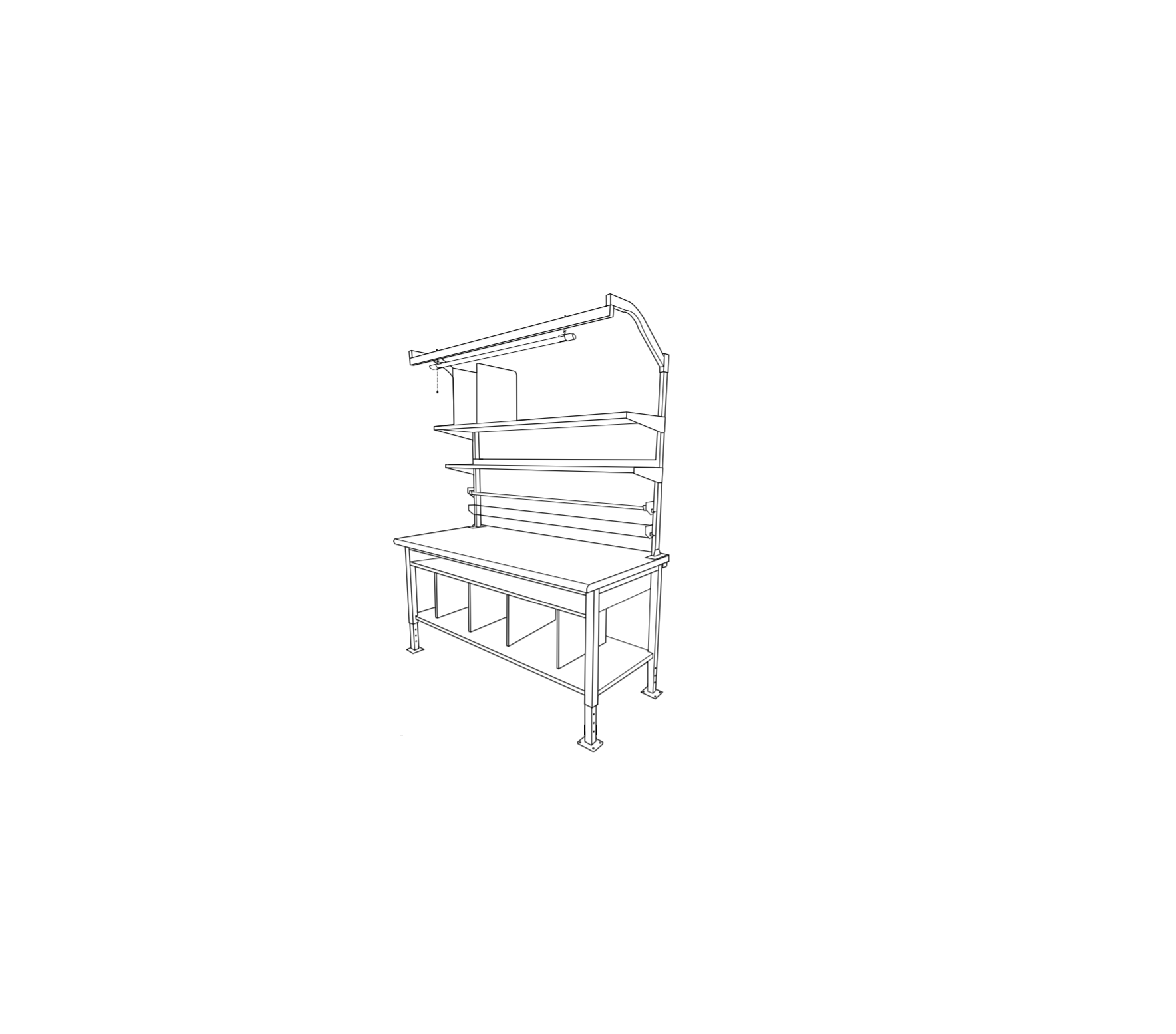 ULINE H-7630,H-7631 Packing Station Installation Guide - Manuals+